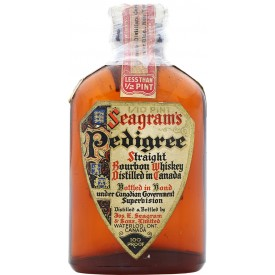 Whiskey Seagram's Pedigree...