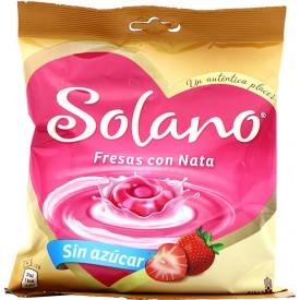Caramelos Fresas con Nata...