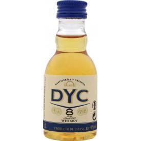 Whisky Dyc 8 Años 40% 5cl