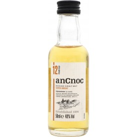 Whisky Ancnoc 12 Años 40% 5cl