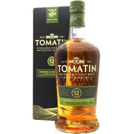 Whisky Tomatin 12 Años 43% 1L
