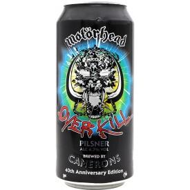 Cerveza Motorhead Overkill...
